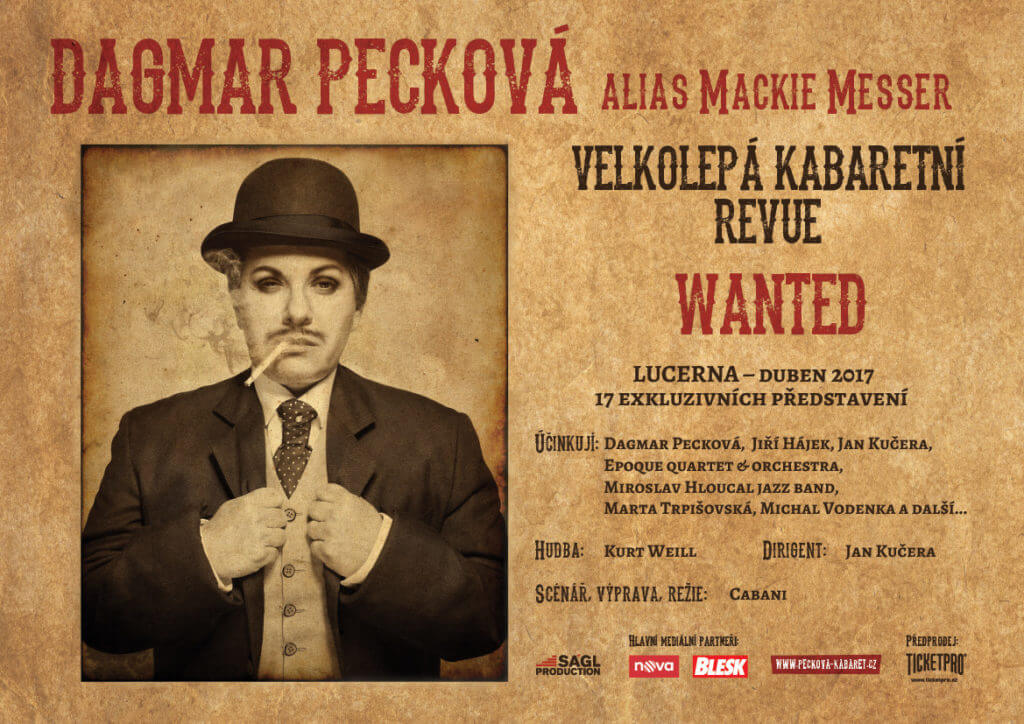 Dagmar Peckova | Wanted | Mackie Messe | Michal Halačka | Fireshow